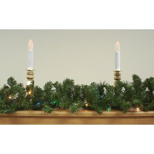 pre lit canadian pine artificial christmas garland - Christmas Garland