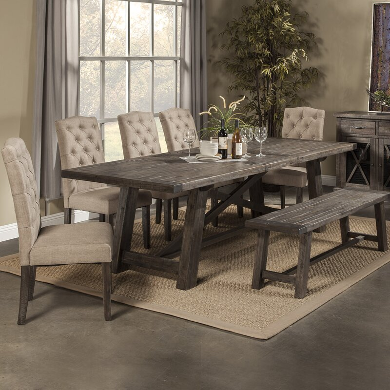 Colborne Extendable Dining Table Reviews Birch Lane