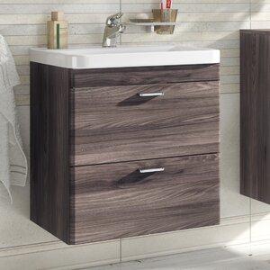 Belfry Bathroom 59 cm Wandmontierter Waschtisch ..
