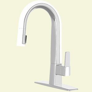 Willow Pull Down Single Handle Kitchen Faucet