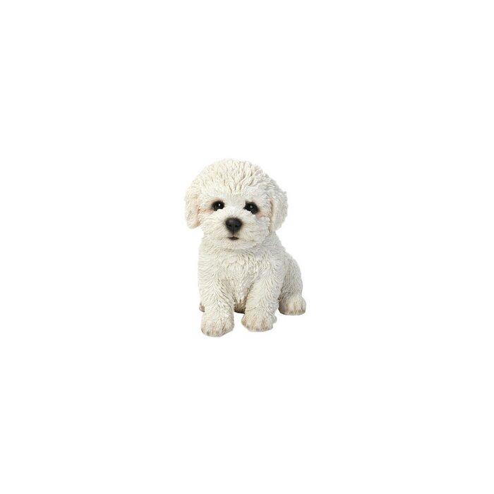 hi line gift ltd sitting bichon frise puppy statue reviews