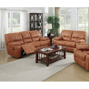 Orleans 2 Piece Leather Living Room Set by Living In Style