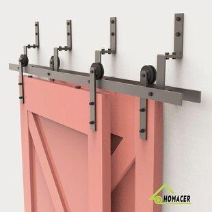 Straight Strap Barn Door Hardware