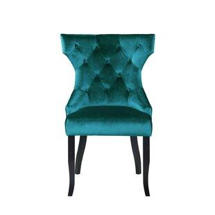 Blue Wingback Dining Chair Wayfair