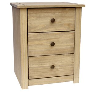 bed side furniture. cayuga 3 drawer bedside table bed side furniture
