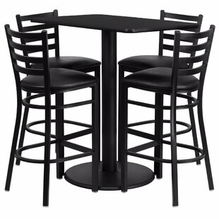 Blodgett 5 Piece Pub Table Set
