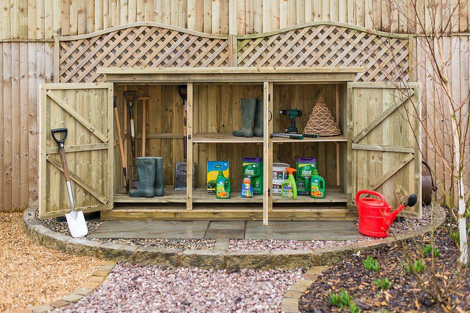 garden sheds 7 x 3 the garden village 7 x 3 wooden garden shed wayfair - Garden Sheds 7 X 3