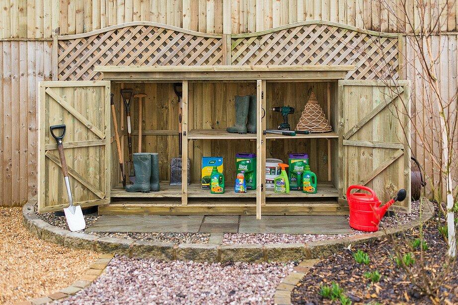 garden sheds 7 x 3 the garden village 7 x 3 wooden garden shed wayfair