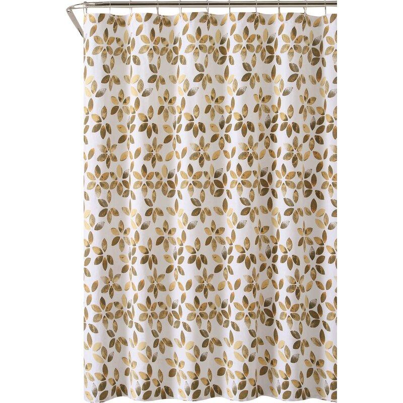 August Grove Autumn Cotton Shower Curtain & Reviews | Wayfair
