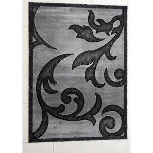 Tammie Dark Gray Area Rug
