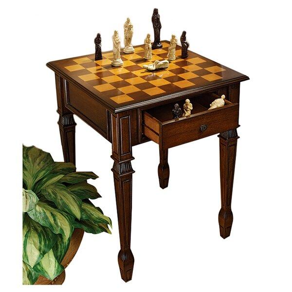 Design Toscano Walpole Manor Gaming Chess Table U0026 Reviews | Wayfair