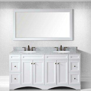 double sink vanity white. Save to Idea Board Double Vanities You ll Love  Wayfair