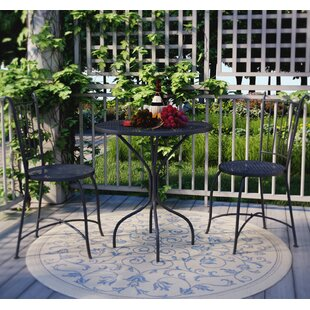 outdoor french bistro set wayfair