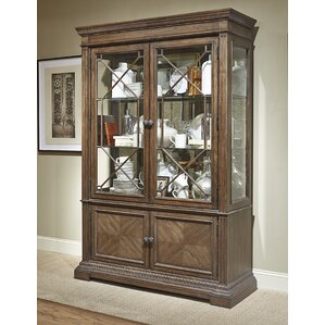 Deverel Traditional China Cabinet by Worl..