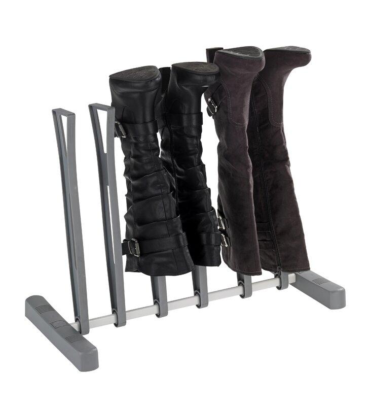 Stiefel Aufbewahrung wenko stiefelaufbewahrung für 3 paar stiefel bewertungen wayfair de