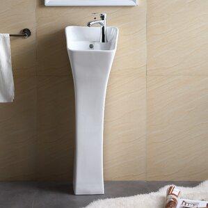 Bathroom Sinks Pedestal pedestal sinks you'll love