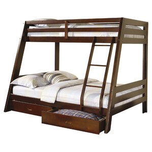 Mullin Twin over Full Bunk Bed with Storage by Wildon Home ?