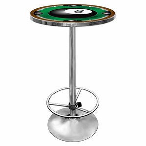 8-Ball Pub Table with Foot Rest by Tradem..
