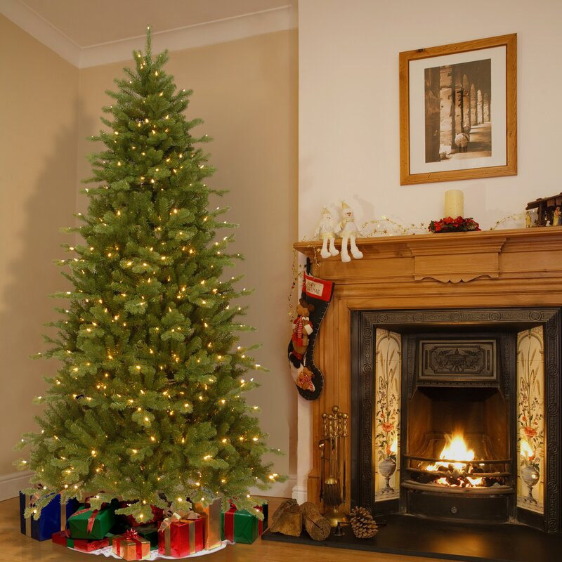 national tree co sheridan spruce memory shape tree with