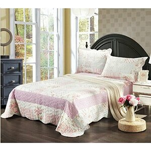 Wildflower Picnic 3 Piece Bedspread Set