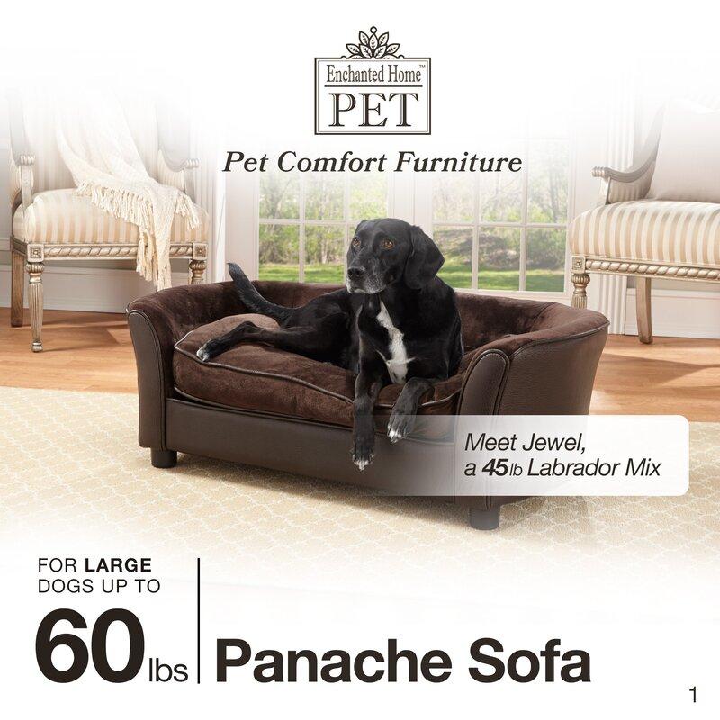 Cora Dog Sofa With Storage Pocket