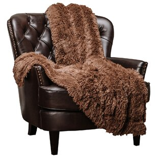 Roth Gy Super Elegent Sherpa Long Fur Throw
