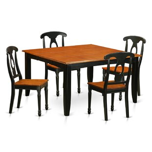 Pilning Contemporary 5 Piece Dining Set