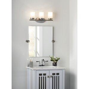 Bathroom Mirror Zones nickel mirrors you'll love | wayfair