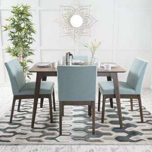 tunis 5 piece dining set modern  u0026 contemporary dining room sets   allmodern  rh   allmodern com