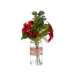 Christmas Faux Flowers Youll Love Wayfair - Christmas arrangements