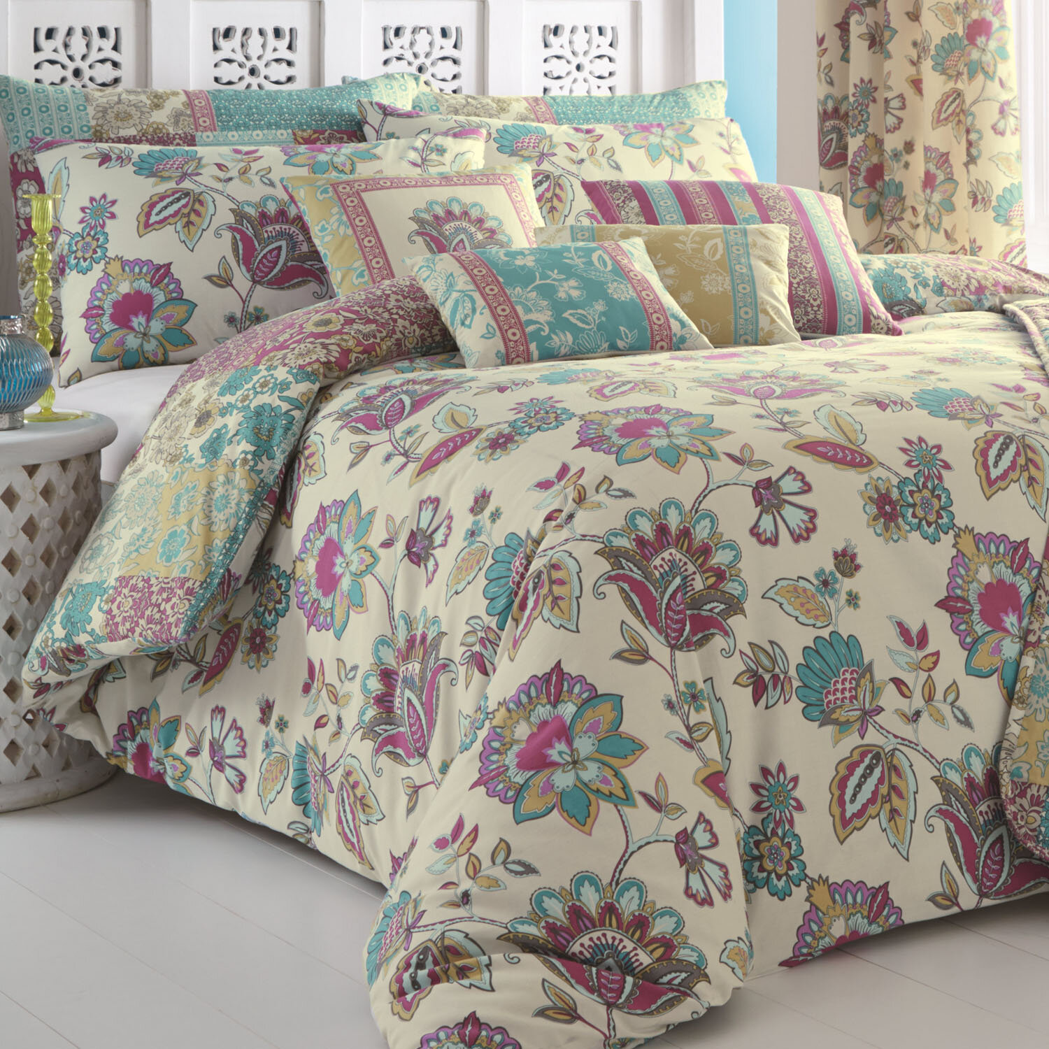 carousel duvet gray patchwork large cover designs