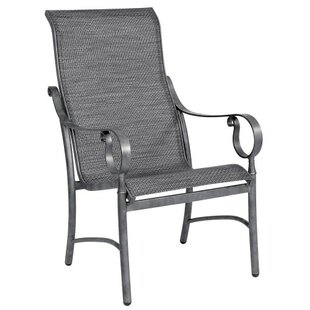 Ridgecrest Sling High Back Patio Dining Chair