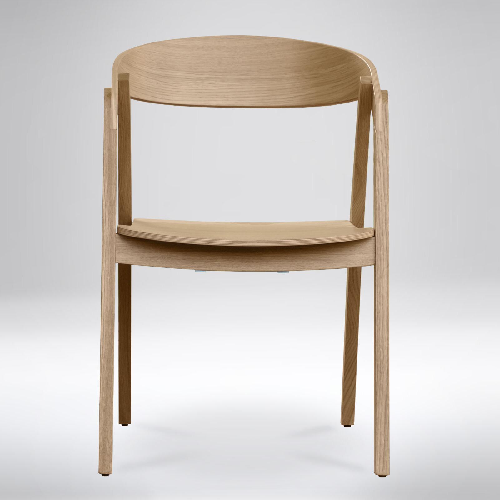 Groovy Barner Solid Wood Dining Chair Machost Co Dining Chair Design Ideas Machostcouk