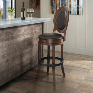 Hosey Adjustable Height Swivel Bar Stool