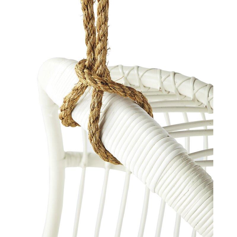 Riviera Rattan Hanging Porch Swing