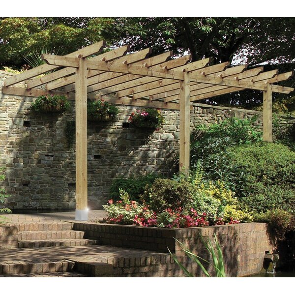 Grange Fencing Lean To Port Pergola Amp Reviews Wayfair Co Uk