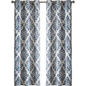 Geometric Curtains Amp Drapes You Ll Love Wayfair