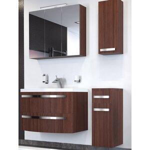 bad11® 90 cm Wandmontierter Waschtisch Dante mit Spiegel und Armatur
