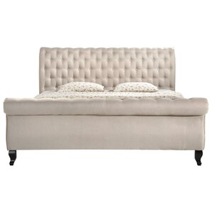 Edwyn Upholstered Sleigh Bed by One Allium Way