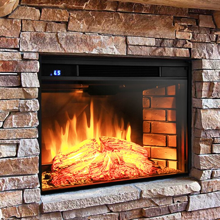 AKDY Wall Mount Electric Fireplace Insert & Reviews