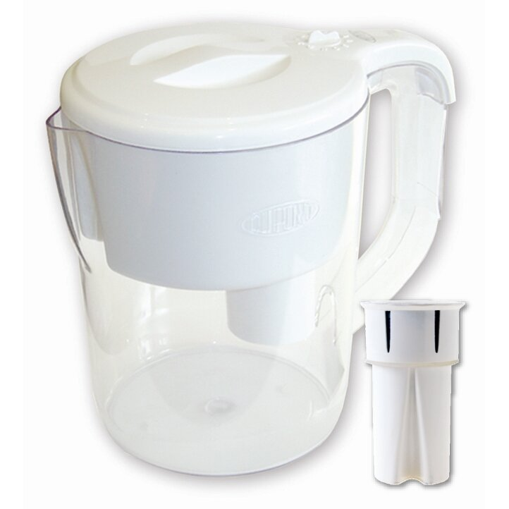 Dupont traditional filtered water pitcher - Glass filtered water pitcher ...