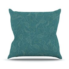 Autumn Leaves by Emma Frances Throw Pillow