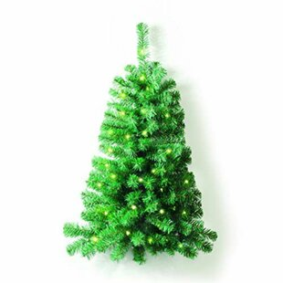 Flatback And Quarter Christmas Trees You Ll Love Wayfair Co Uk