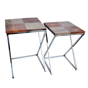 Cossey 2 Piece End Table Set by Brayden Studio