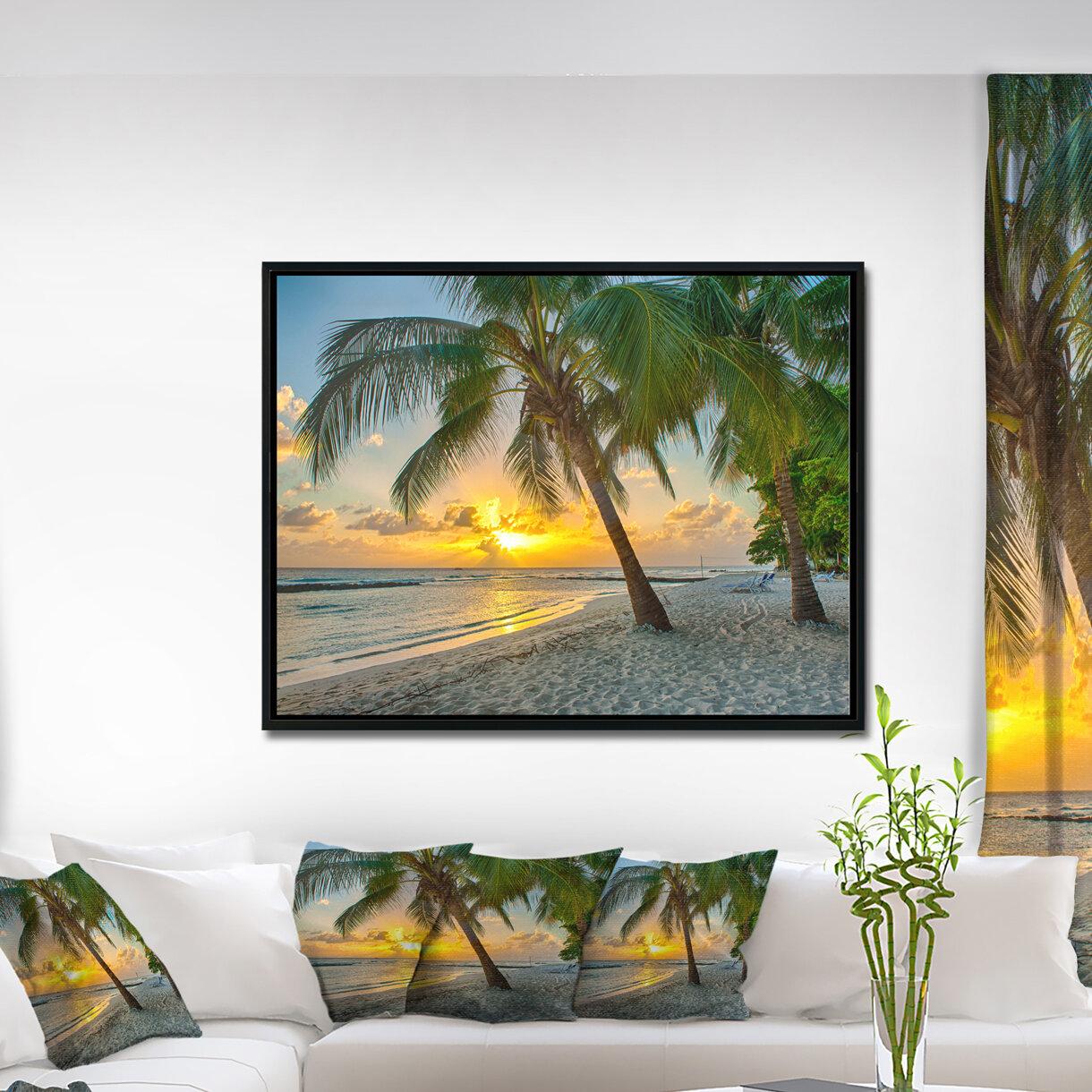 East Urban Home 'Beach In Caribbean Island Of Barbados