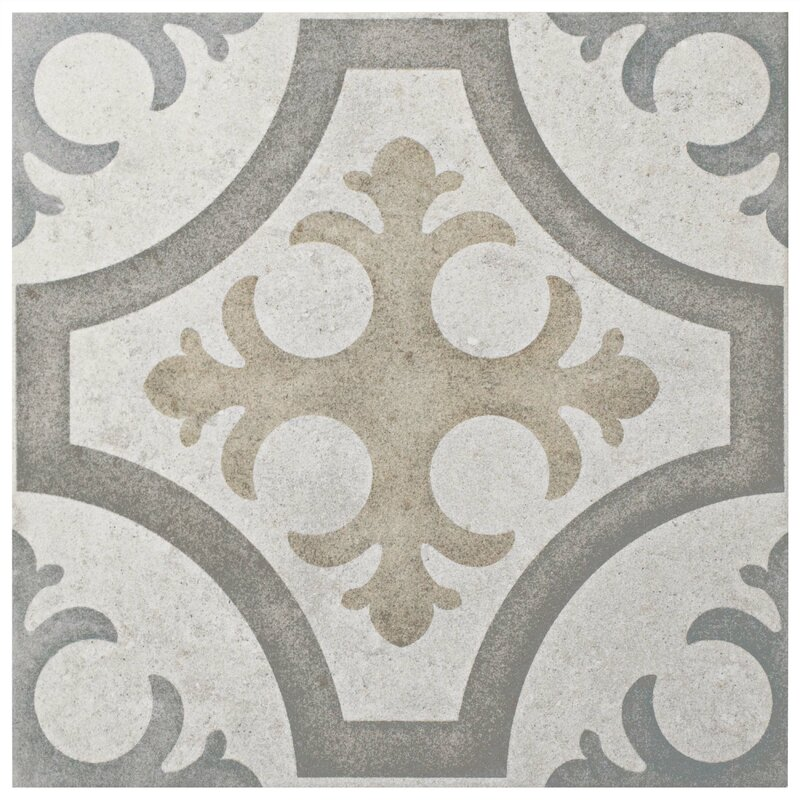 Ardisana 13 13 Quot X 13 13 Quot Ceramic Field Tile In Gray Brown