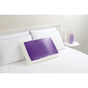 Bed Memory Foam and Gel Fiber Standard Pillow by Luxury Home