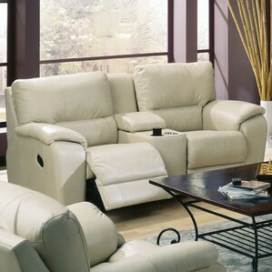 Palliser Furniture Shields Leather Reclining Sofa Image
