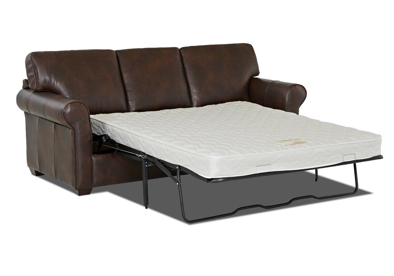 Jordyn 91 Leather Sleeper Sofa Reviews Joss Main ~ Brown Leather Sleeper Sofa