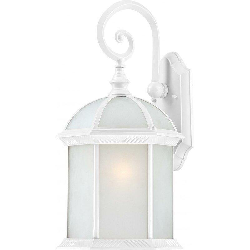 White Outdoor Wall Lantern Part - 46: ... Lantern Outdoor Wall Lighting/; SKU: CHLH8408. Default_name